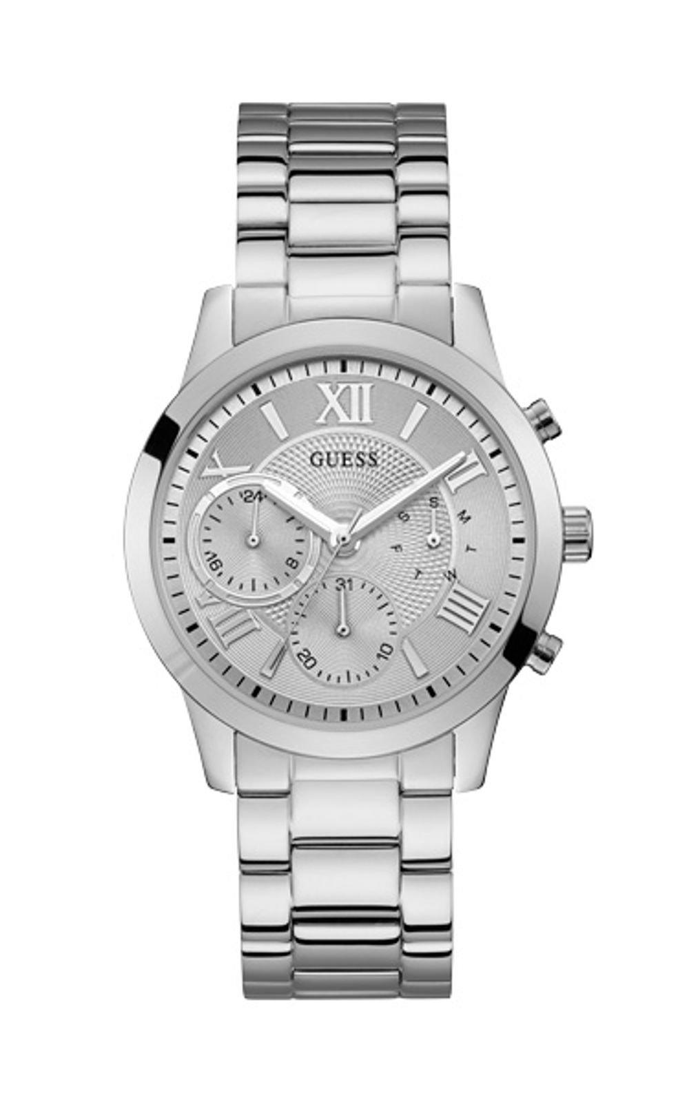 Guess W1070L1 Γυναικείο Ρολόι Quartz Χρονογράφος Ακριβείας