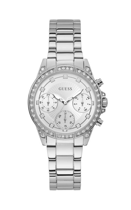 Guess W1293L1 Γυναικείο Ρολόι Quartz Χρονογράφος Ακριβείας
