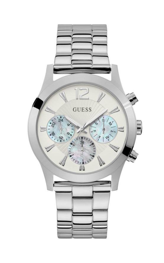 Guess W1295L1 Γυναικείο Ρολόι Quartz Χρονογράφος Ακριβείας