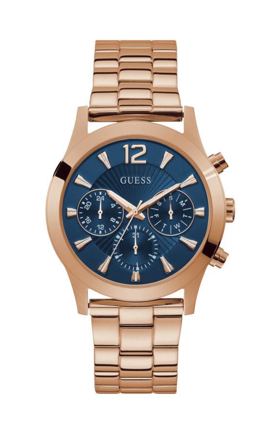 Guess W1295L3 Γυναικείο Ρολόι Quartz Χρονογράφος Ακριβείας