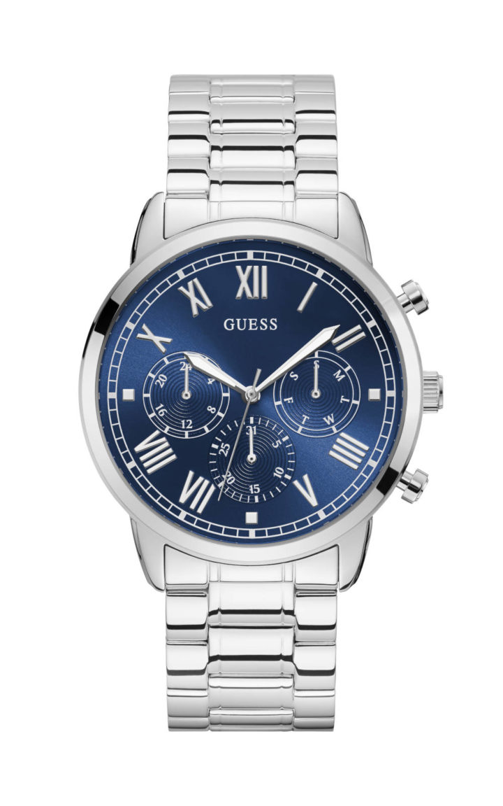 Guess W1309G1 Γυναικείο Ρολόι Quartz Χρονογράφος Ακριβείας
