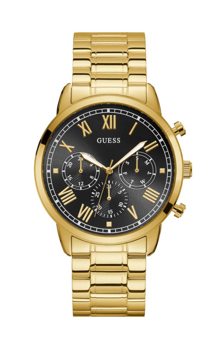 Guess W1309G2 Γυναικείο Ρολόι Quartz Χρονογράφος Ακριβείας