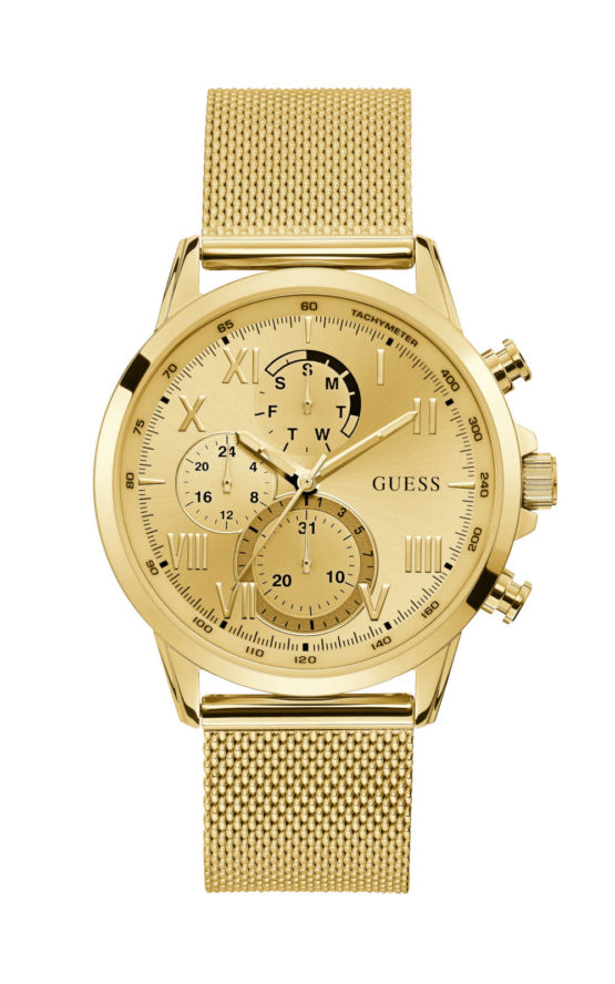 Guess W1310G2 Γυναικείο Ρολόι Quartz Χρονογράφος Ακριβείας