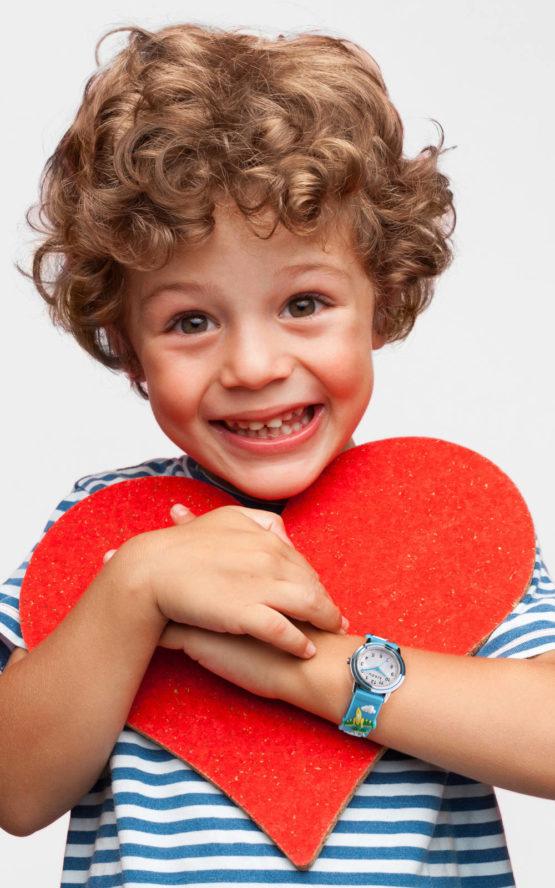 KIKOU R4551101001 Παιδικό Ρολόι Quartz Ακριβείας 4