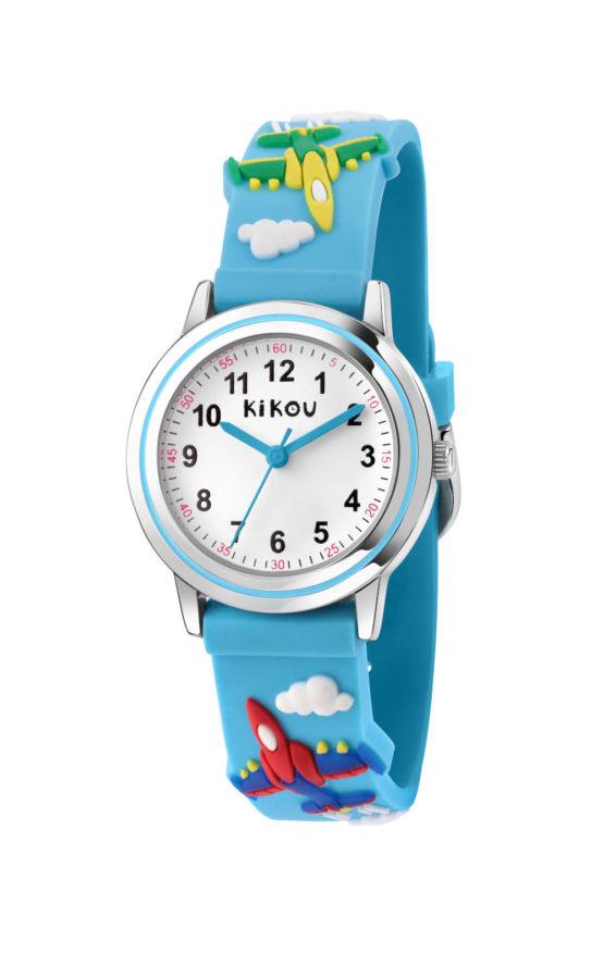 KIKOU R4551101001 Παιδικό Ρολόι Quartz Ακριβείας