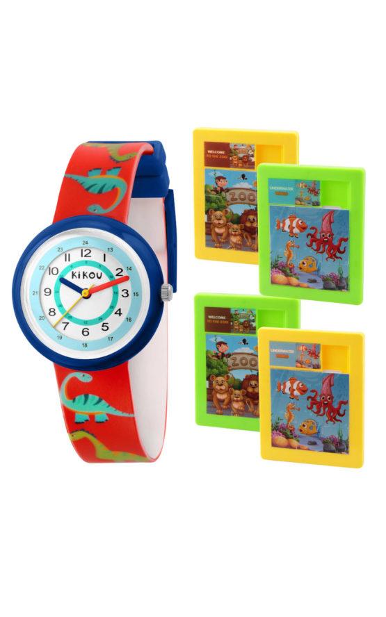 KIKOU R4551103001 Παιδικό Ρολόι Quartz Ακριβείας