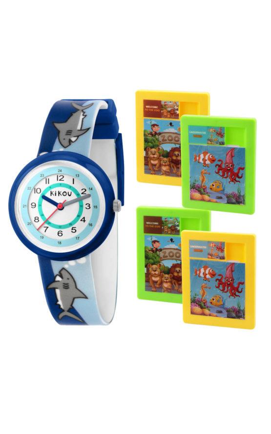 KIKOU R4551103002 Παιδικό Ρολόι Quartz Ακριβείας