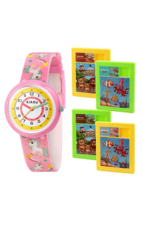 KIKOU R4551103501 Παιδικό Ρολόι Quartz Ακριβείας