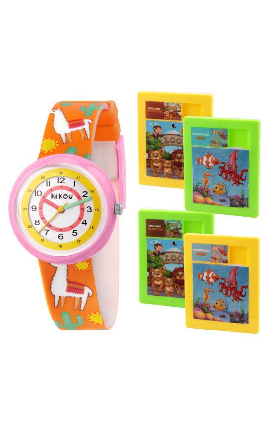 KIKOU R4551103502 Παιδικό Ρολόι Quartz Ακριβείας