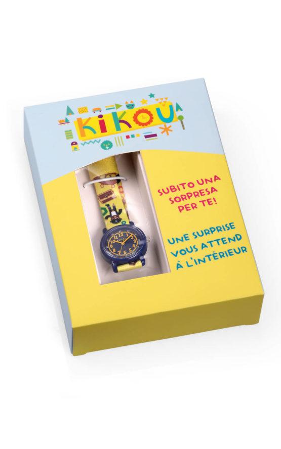 KIKOU R4551104002 Παιδικό Ρολόι Quartz Ακριβείας 5