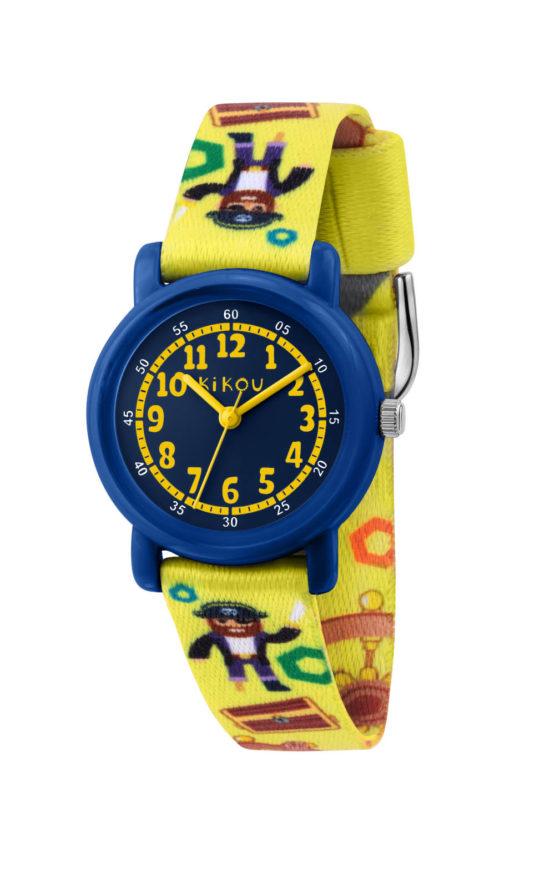 KIKOU R4551104002 Παιδικό Ρολόι Quartz Ακριβείας