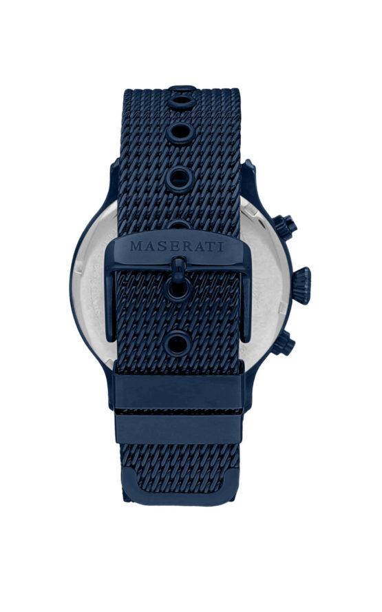 MASERATI BLUE EDITION R8873618010 Ανδρικό Ρολόι Quartz Χρονογράφος Ακριβείας 3