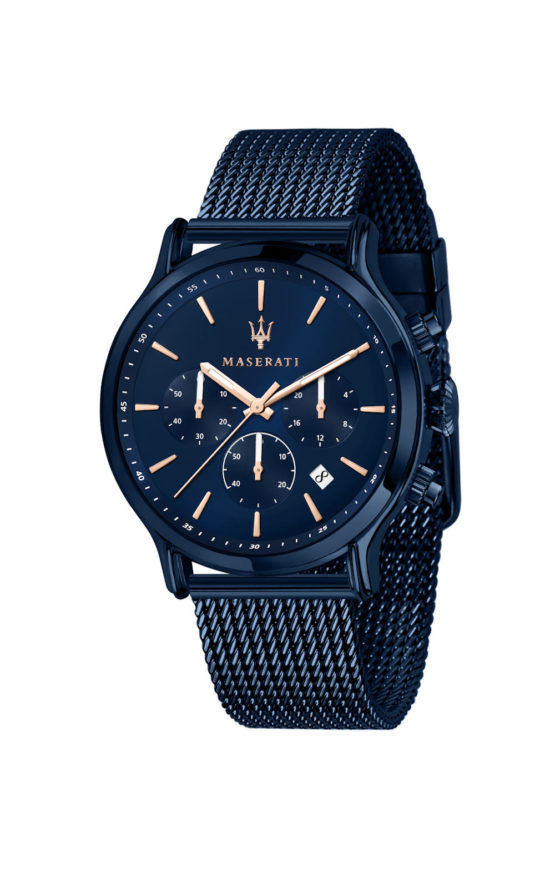 MASERATI BLUE EDITION R8873618010 Ανδρικό Ρολόι Quartz Χρονογράφος Ακριβείας