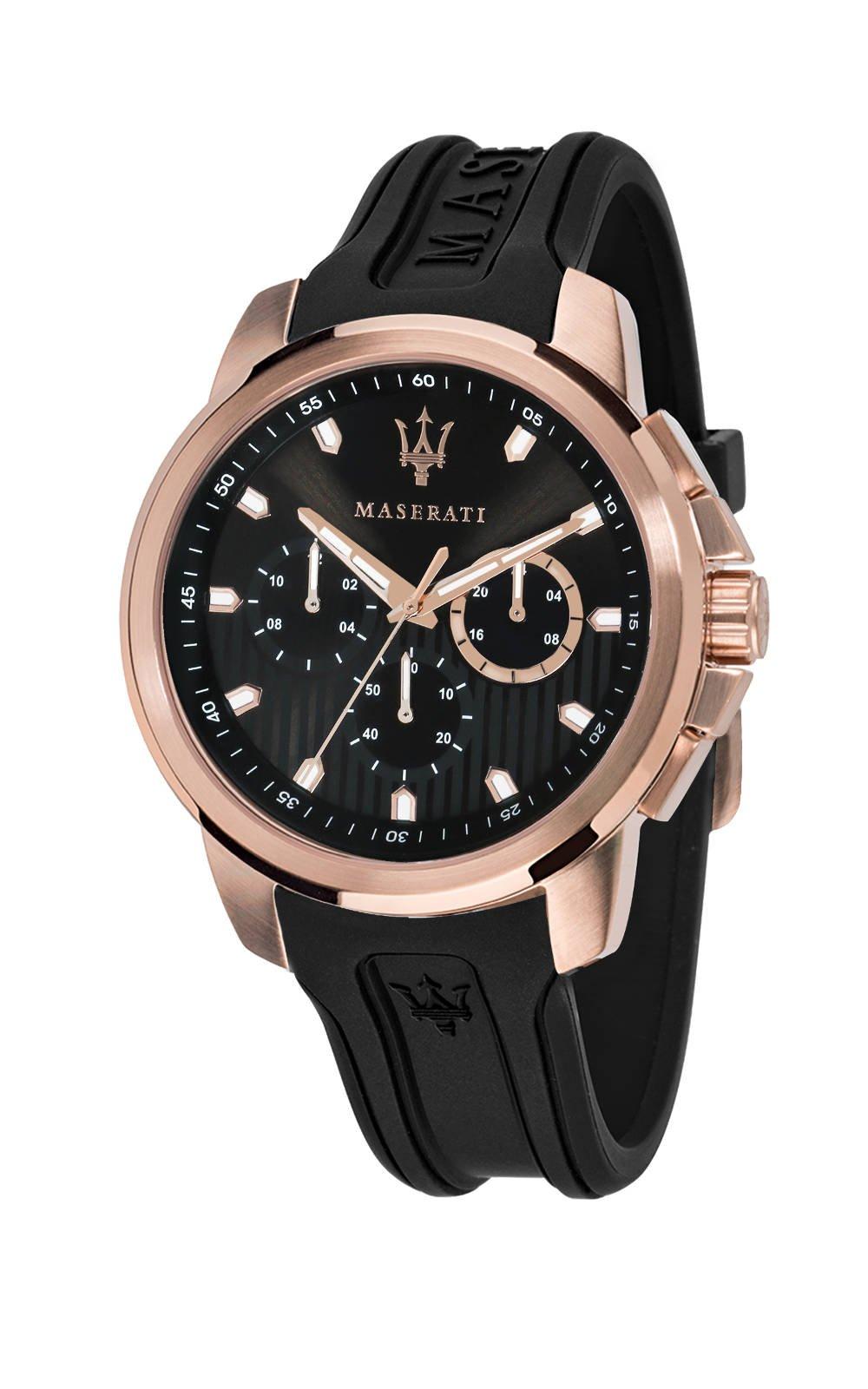 MASERATI R8851123008 Ανδρικό Ρολόι Quartz Χρονογράφος Ακριβείας