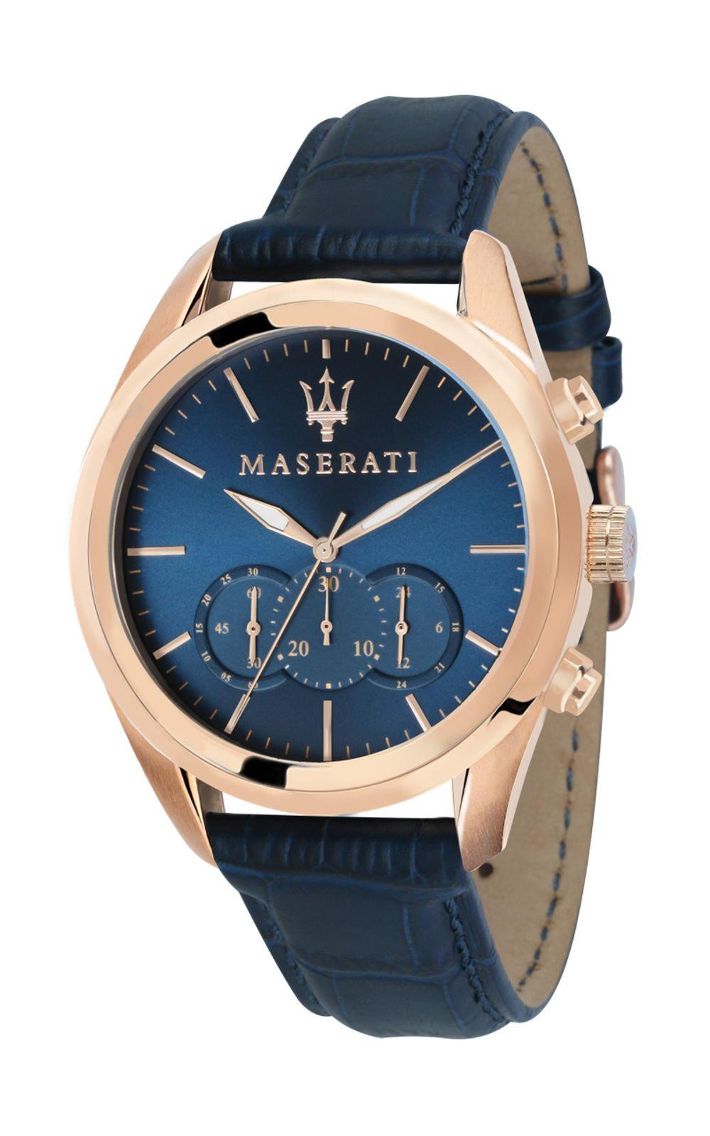 MASERATI R8871612015 Ανδρικό Ρολόι Quartz Χρονογράφος Ακριβείας