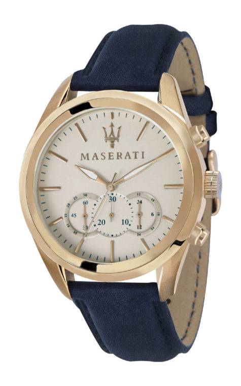 MASERATI R8871612016 Ανδρικό Ρολόι Quartz Χρονογράφος Ακριβείας