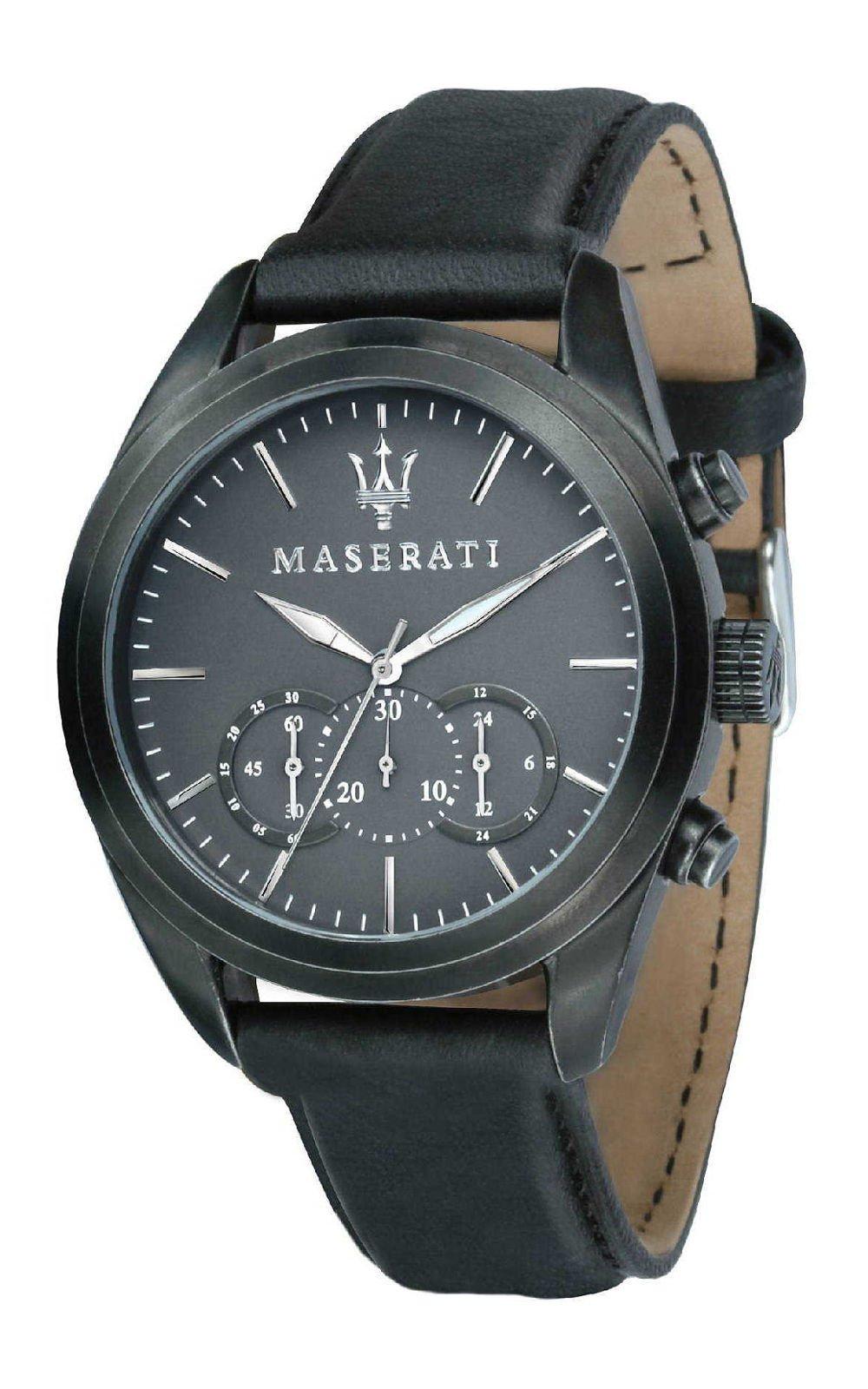 MASERATI R8871612019 Ανδρικό Ρολόι Quartz Χρονογράφος Ακριβείας 12d42e6f2aa