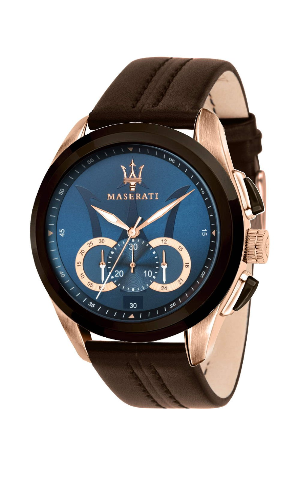 MASERATI R8871612024 Ανδρικό Ρολόι Quartz Χρονογράφος Ακριβείας