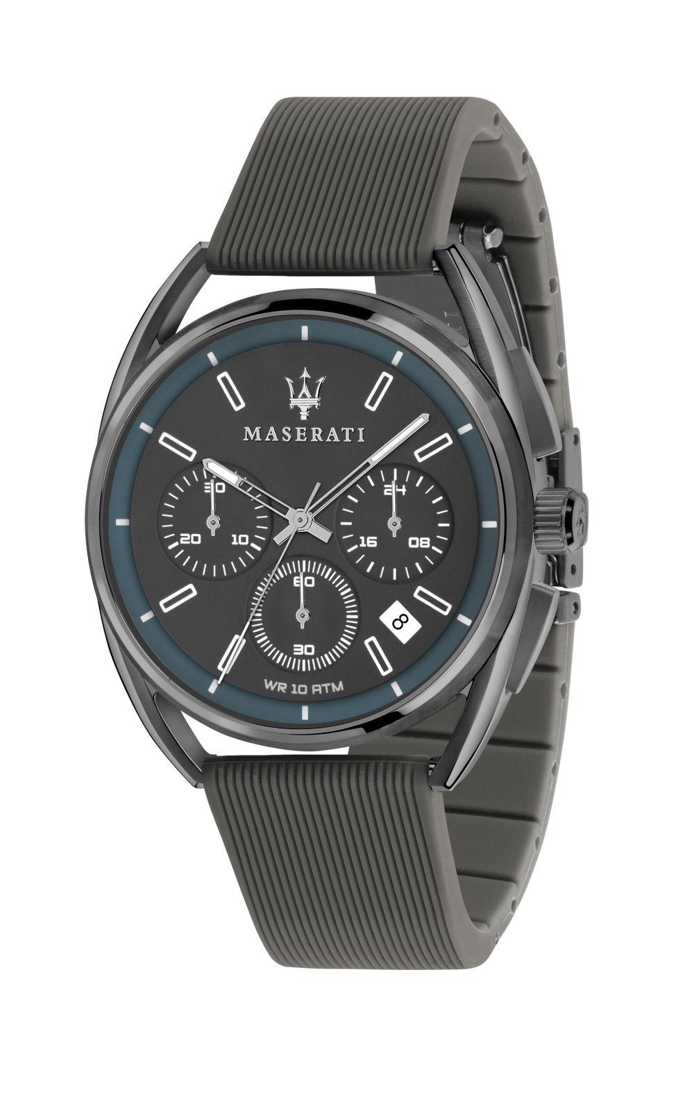 MASERATI TRIMARANO R8871632003 Ανδρικό Ρολόι Quartz Χρονογράφος Ακριβείας b509a75ea03