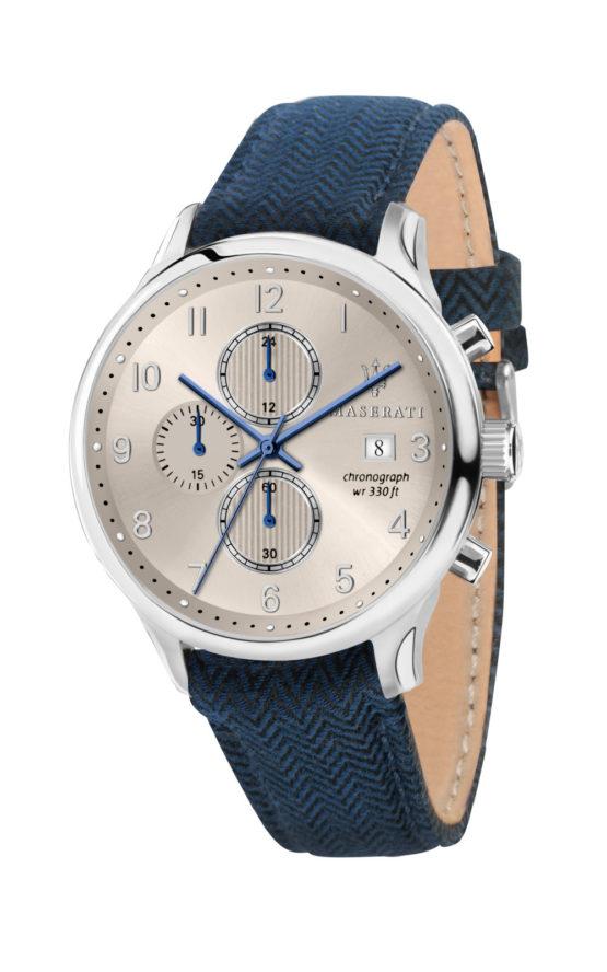 MASERATI R8871636004 Ανδρικό Ρολόι Quartz Χρονογράφος Ακριβείας