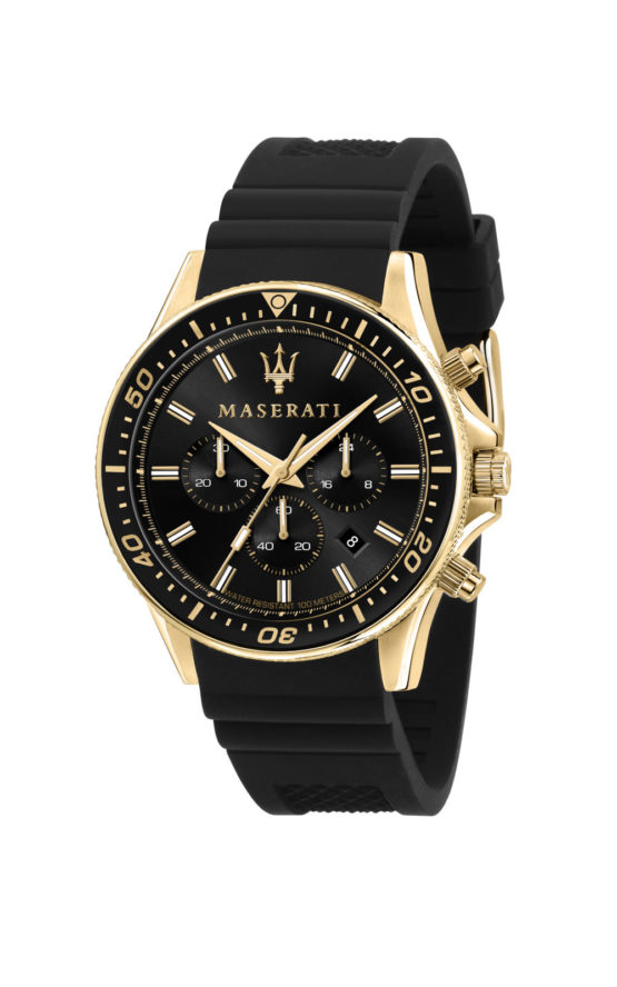 MASERATI R8871640001 Ανδρικό Ρολόι Quartz Χρονογράφος Ακριβείας