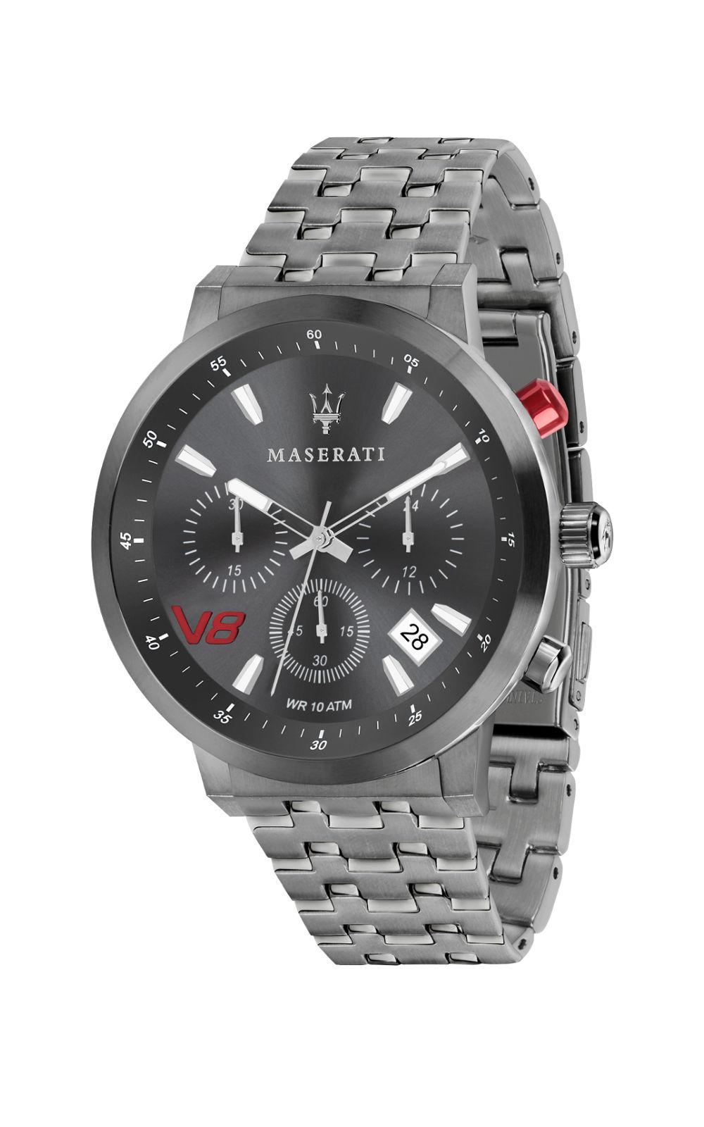 MASERATI GT R8873134001 Ανδρικό Ρολόι Quartz Χρονογράφος Ακριβείας 1171c802ec4