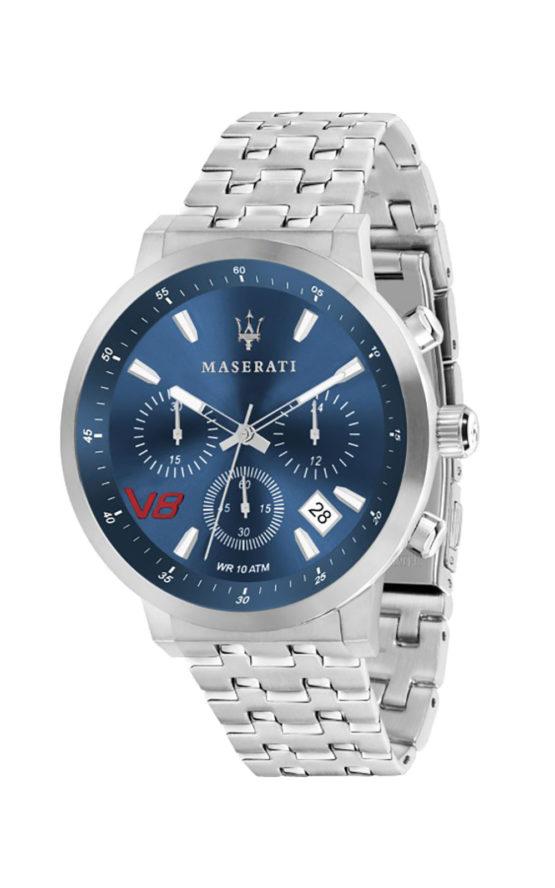 MASERATI R8873134002 Ανδρικό Ρολόι Quartz Χρονογράφος Ακριβείας