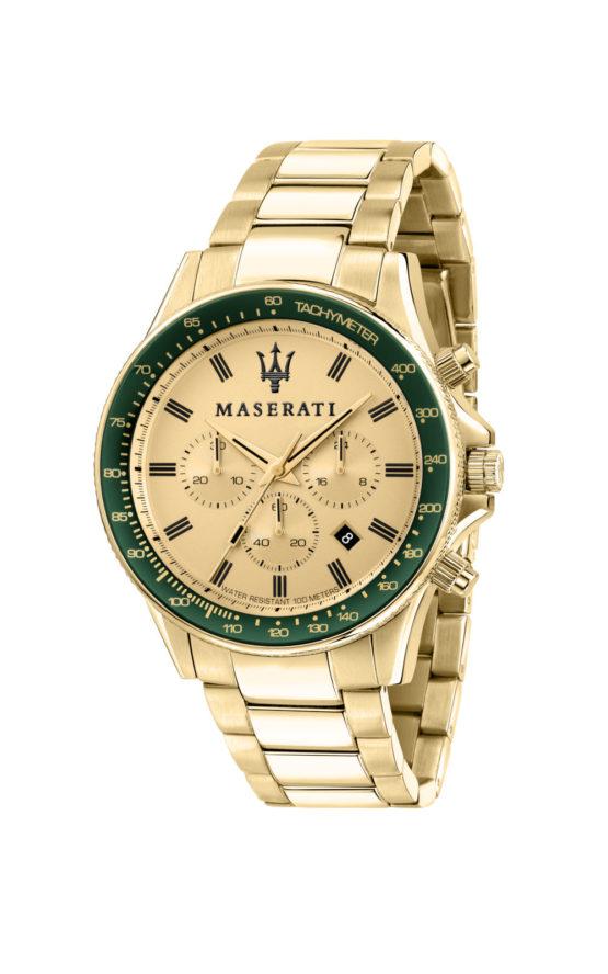 MASERATI R8873640005 Ανδρικό Ρολόι Quartz Χρονογράφος Ακριβείας