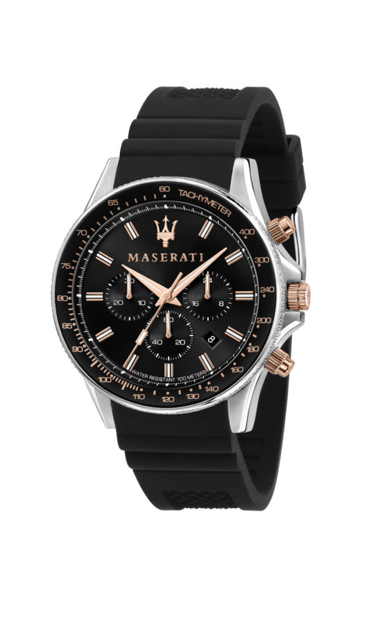 MASERATI SFIDA R8871640002 Ανδρικό Ρολόι Quartz Χρονογράφος Ακριβείας