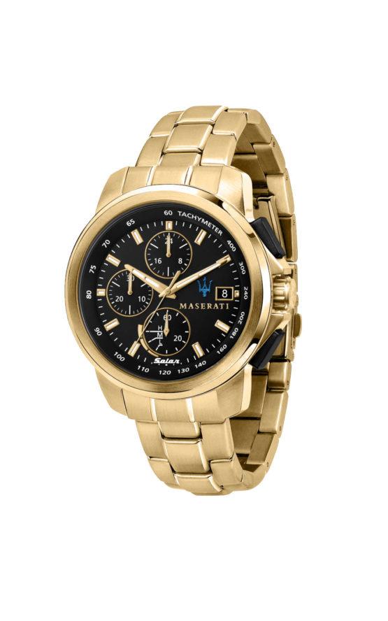 MASERATI SUCCESSOR8873645002 Ανδρικό Ρολόι Only Solar Time