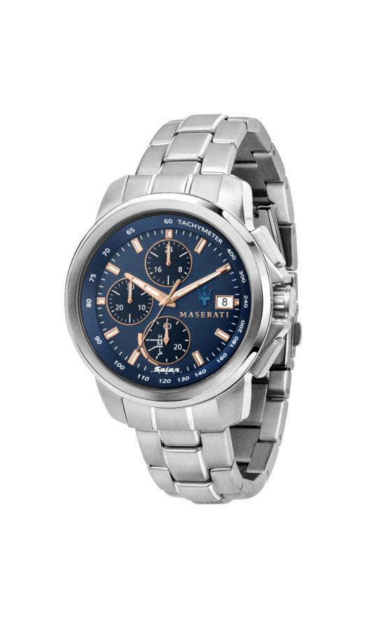 MASERATI SUCCESSO R8873645004 Ανδρικό Ρολόι Only Solar Time