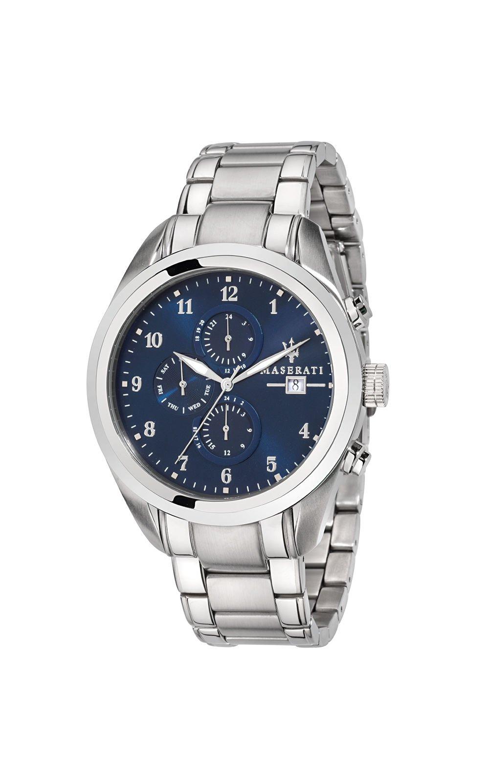MASERATI R8853112505 Ανδρικό Ρολόι Quartz Χρονογράφος Ακριβείας