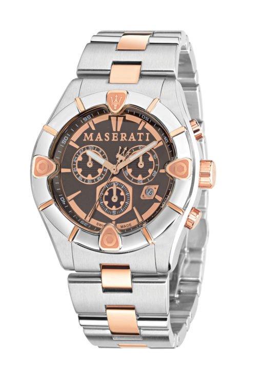 MASERATI R8873611002 Ανδρικό Ρολόι Quartz Χρονογράφος Ακριβείας