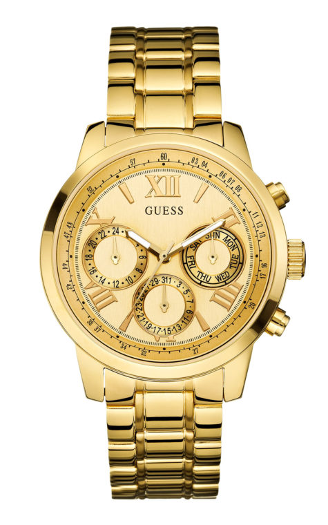 GUESS W0330L1 Γυναικείο Ρολόι Quartz Multi-Function