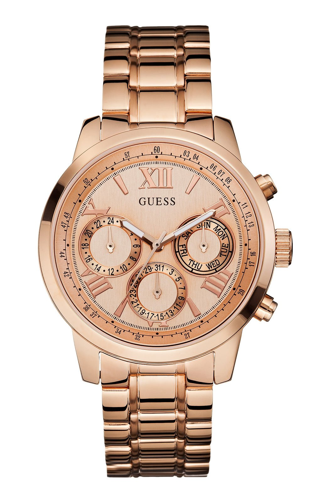 GUESS W0330L2 Γυναικείο Ρολόι Quartz Multi-Function eeea12103dd