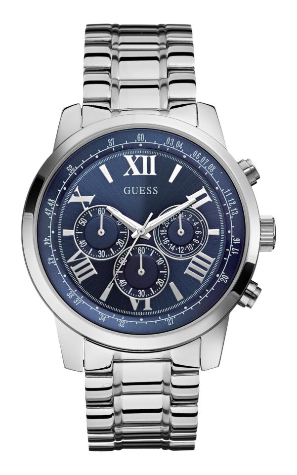 GUESS W0379G3 Αντρικό Ρολόι Quartz Χρονογράφος Ακριβείας