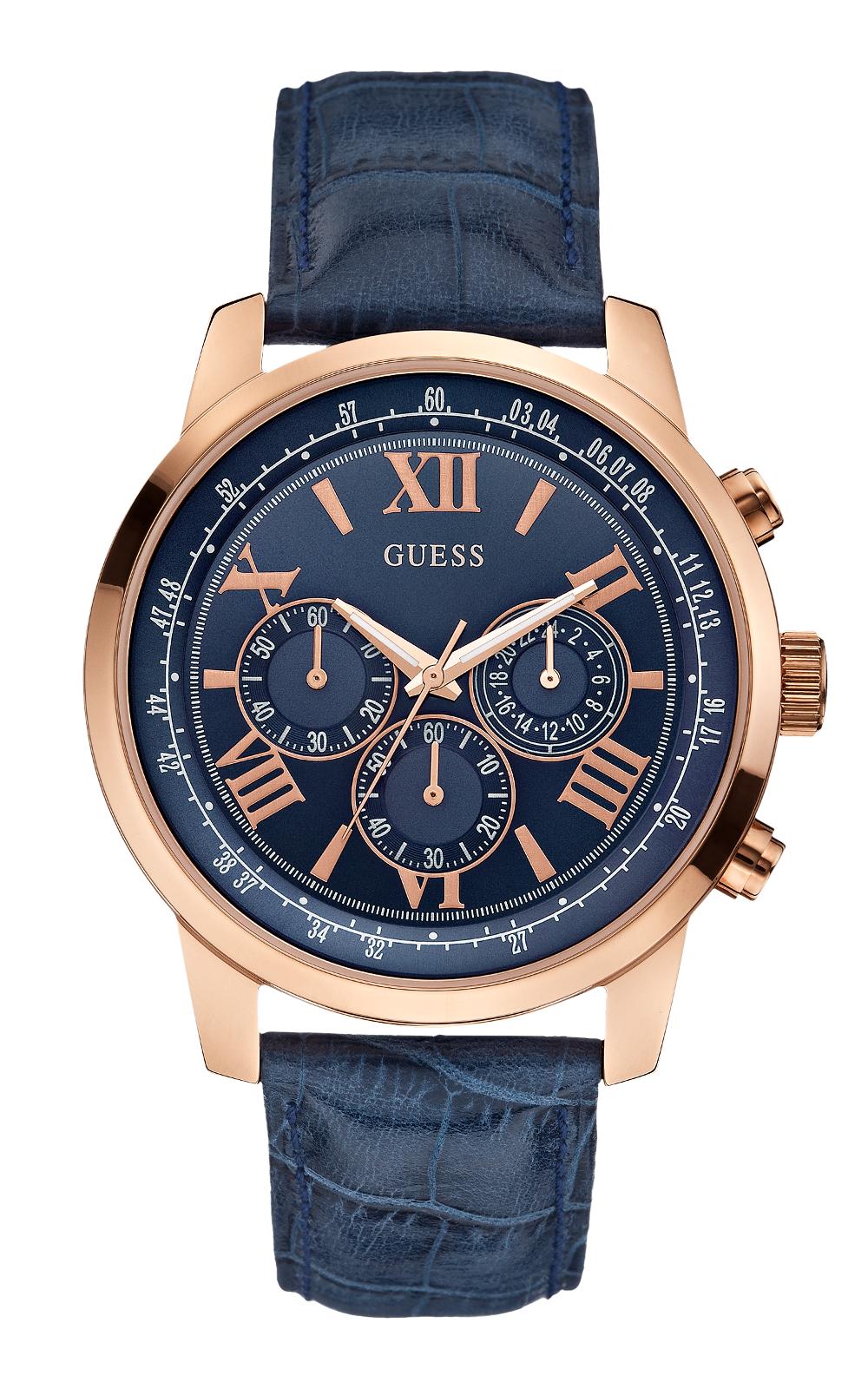 GUESS W0380G5 Ανδρικό Ρολόι Quartz Χρονογράφος Ακριβείας abeabeaf1a3