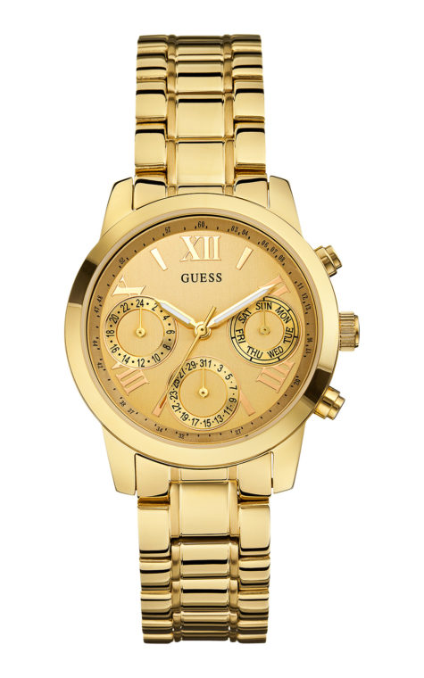 GUESS W0448L2 Γυναικείο Ρολόι Quartz Multi-Function