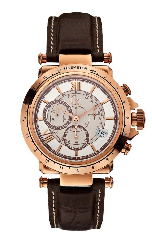 GC X44001G1 Ανδρικό Ρολόι Quartz Χρονογράφος Ακριβείας