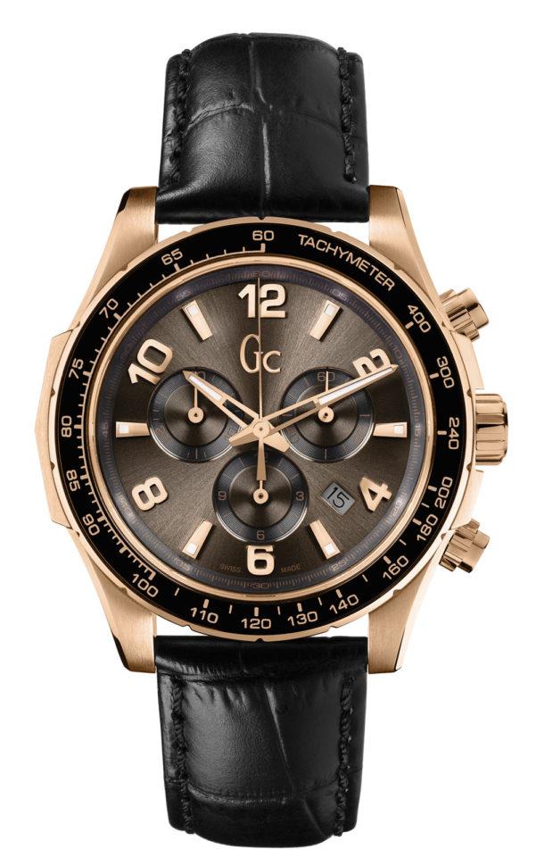 GC X51001G1S Ανδρικό Ρολόι Quartz Χρονογράφος Ακριβείας