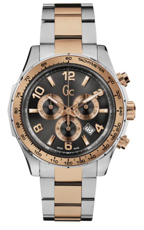 GC X51004G5S Ανδρικό Ρολόι Quartz Χρονογράφος Ακριβείας
