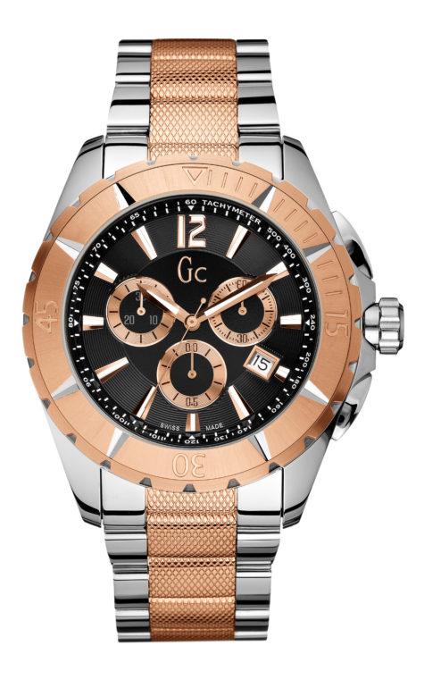 GC X53003G2S Αντρικό Ρολόι Quartz Χρονογράφος Ακριβείας