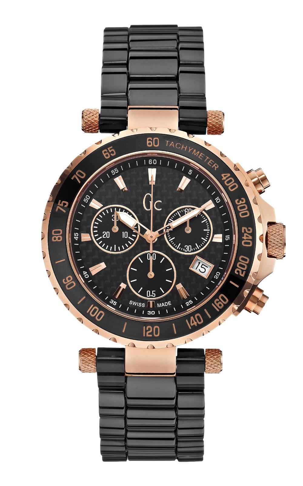 GC X58003G2S Γυναικείο Ρολόι Quartz Χρονογράφος Ακριβείας
