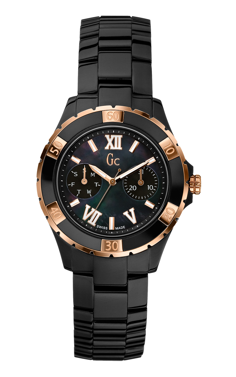 GC X69004L2S Γυναικείο Ρολόι Quartz Χρονογράφος Ακριβείας