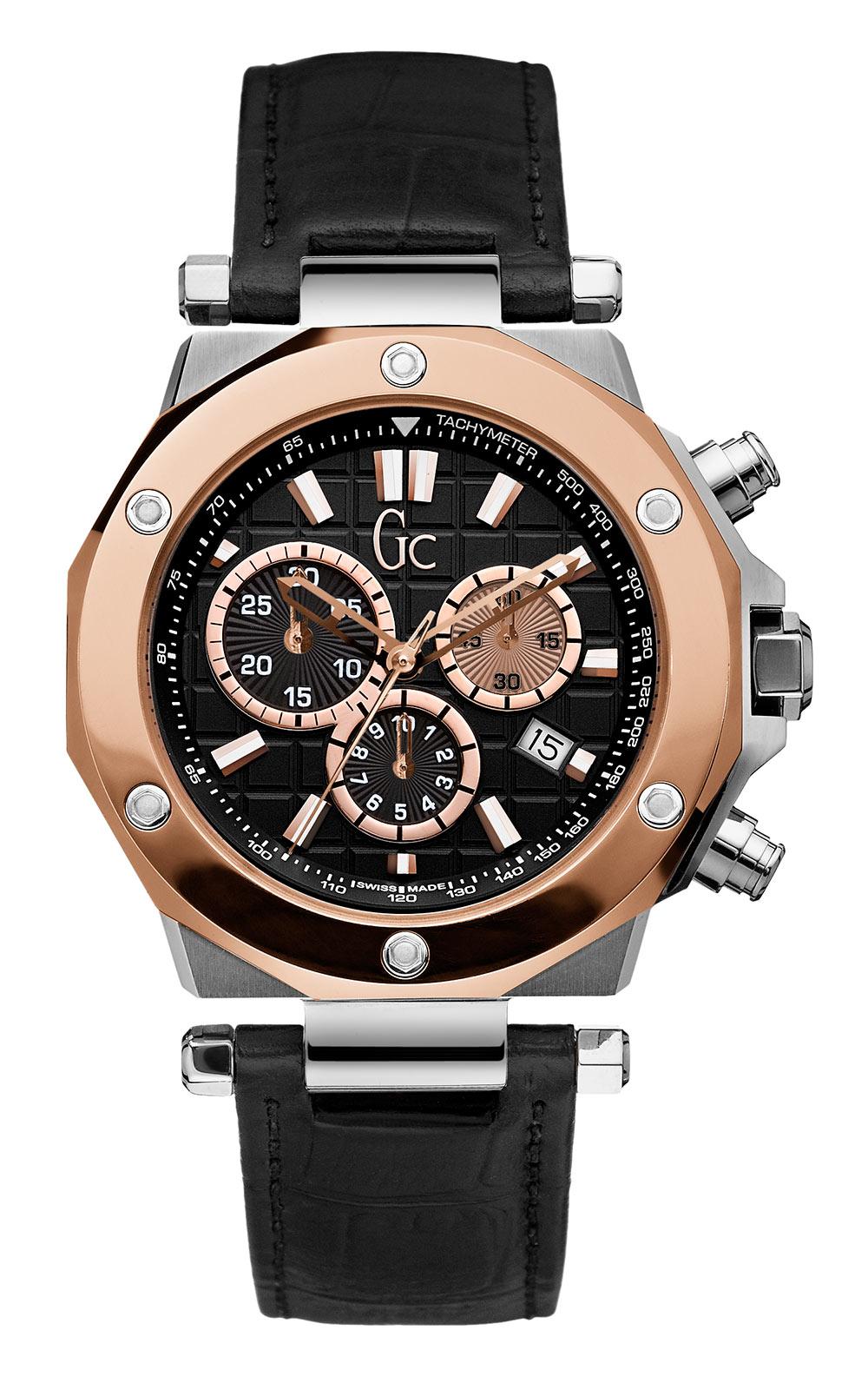 GC X72005G2S Ανδρικό Ρολόι Quartz Χρονογράφος Ακριβείας