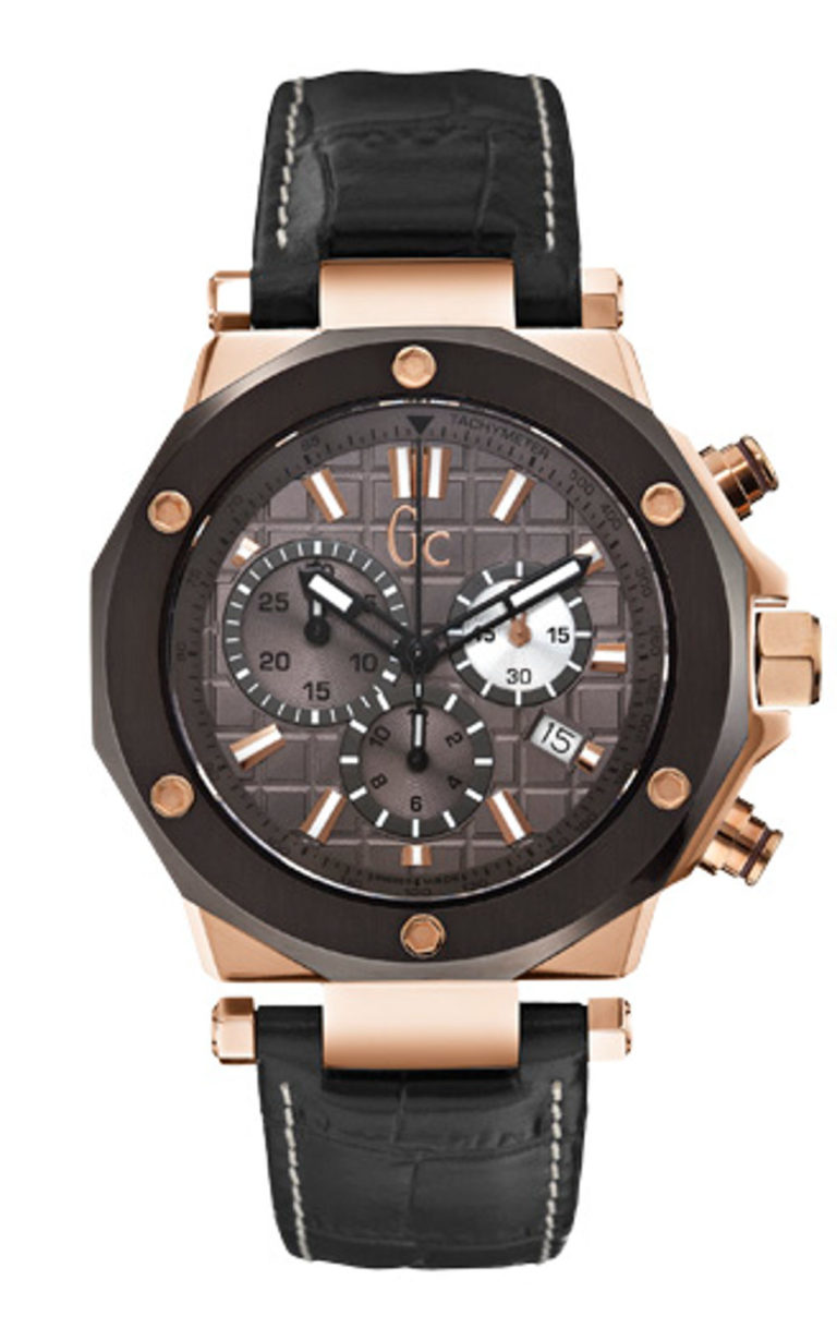GC X72024G5S Ανδρικό Ρολόι Quartz Χρονογράφος Ακριβείας