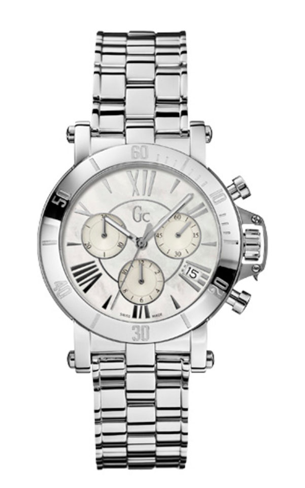 GC X73001M1S Γυναικείο Ρολόι Quartz Χρονογράφος Ακριβείας