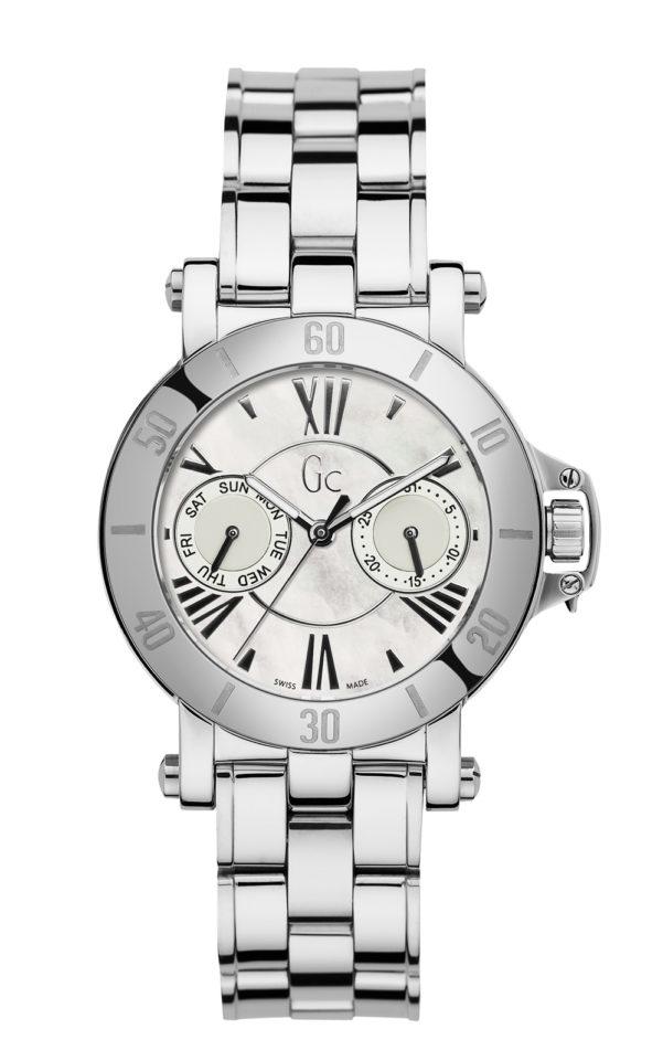 GC X74001L1S Γυναικείο Ρολόι Quartz Χρονογράφος Ακριβείας