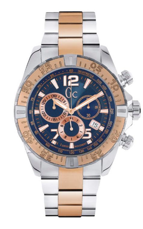 GC Y02002G7 Ανδρικό Ρολόι Quartz Χρονογράφος Ακριβείας