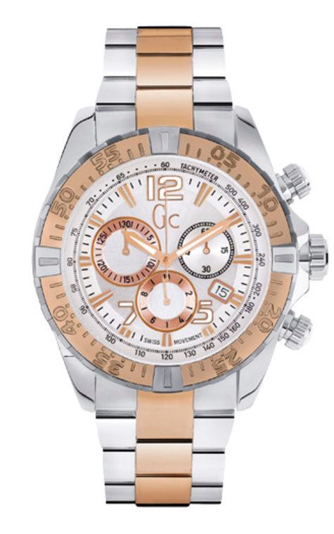 GC Y02006G1 Ανδρικό Ρολόι Quartz Χρονογράφος Ακριβείας